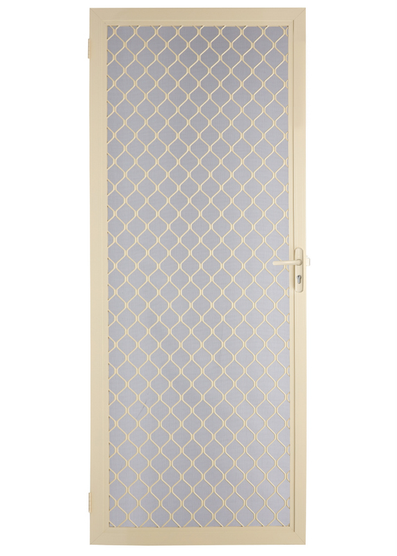 7mm Diamond Hinged Screen Door Ebay