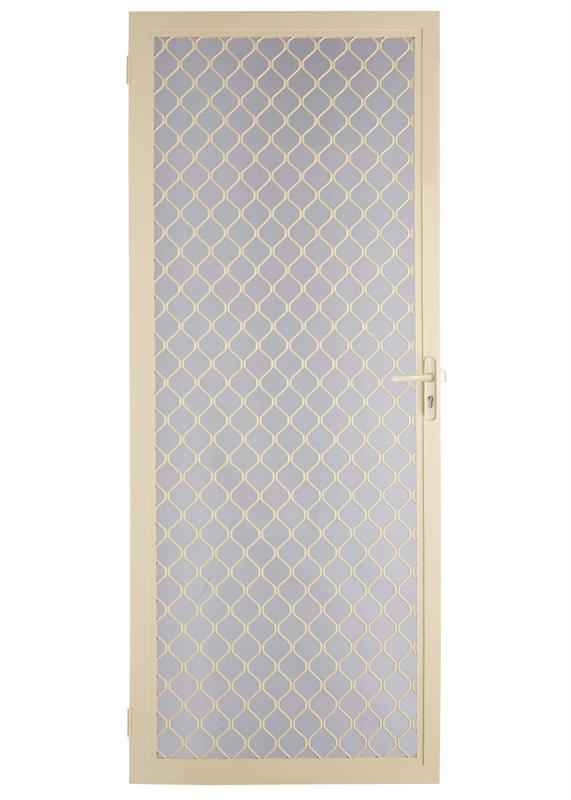 7mm diamond hinged screen door ebay for Hinged screen doors for french doors