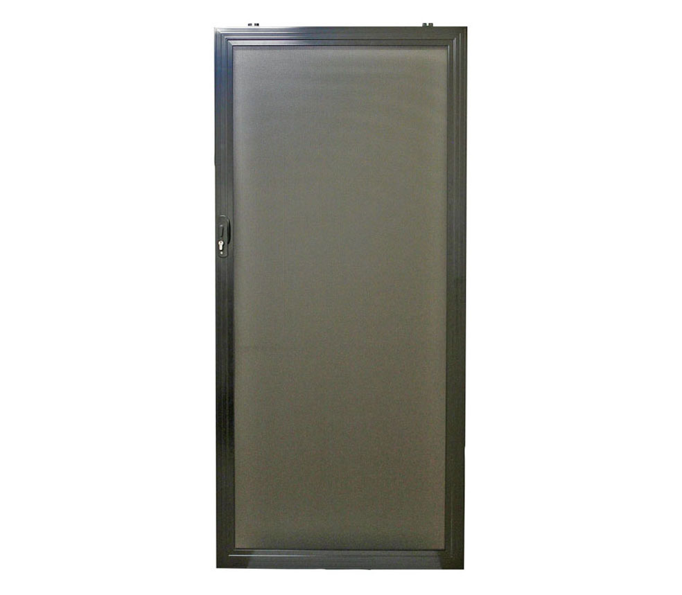 Alu gard edge sliding security screen door for Sliding security doors